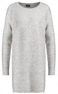 VIRIVA  - Vestito di maglia - light grey melange