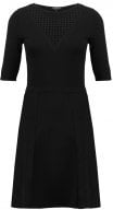RETCH - Vestito di maglia - noir