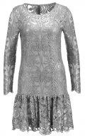 Young Couture by Barbara Schwarzer Vestito elegante stone