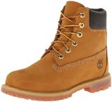Timberland 6in Premium Boot - W, Stivaletti Donna, Giallo (Wheat Nubuck), 39.5