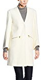 Almost Famous Jewelled Coat-Giubbotto Donna    Bianco (Cream) 40