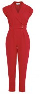 Tuta jumpsuit - red