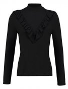 VMZALE - Maglietta a manica lunga - black