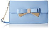 LYDC - Metallic Double Bow Clutch, Sacchetto Donna