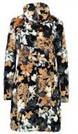 Cappotto classico - black flowers