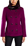 Precis Petite - Berry Short Wool - Fur Collar, Giubbotto Donna