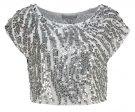 BATILDA - T-shirt con stampa - silver
