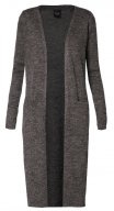 RIVA - Cardigan - dark grey melange