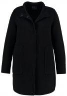 NEWGINEVRA - Cappotto corto - nero