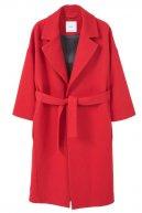 VALENTI - Cappotto classico - red