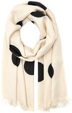 PIECES Pchasna Long Scarf, Sciarpa Donna, Multicolore (Whitecap Gray), Taglia unica