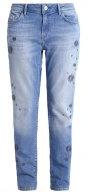 UPTOWN ANDREA - Jeans baggy - light indigo fancy