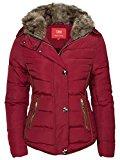 Giacca invernale da donna cappotto corto imbottito pelliccia piumino effetto trapuntato giacca con cappuccio