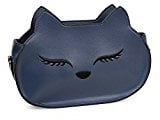 BMC da donna in similpelle in pelle Fox muso di tema a tracolla Borsa Fashion frizione