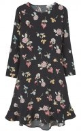 FLOWERS - Vestito estivo - black