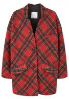 TARTAN - Cappotto classico - medium red