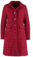 NATHALIE  - Cappotto classico - plum red