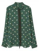 RETRO - Camicia - green
