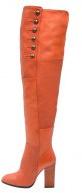 CLOVER - Stivali sopra il ginocchio - orange
