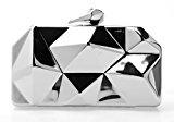 Eyekepper Fashion Borsa Donna Geometrico Tracolla Metallo