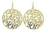 Guess, Orecchini da donna in metallo colore oro UBE12204