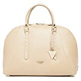 Guess Lady Luxe Dome Satchel Borsa a Spalla, Donna, Grigio (Taupe)