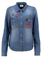 VMCUBA - Camicia - medium blue denim