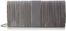 Bulaggi Suwe Clutch - Pochette da giorno Donna, Silber, 27x12x5 cm (B x H T)