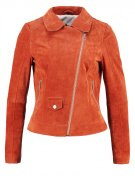 Freaky Nation GINA Giacca di pelle burnt orange