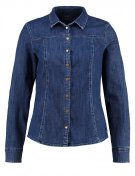 Camicia - blue dark wash