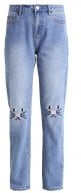 VMBABSY - Jeans a sigaretta - medium blue denim
