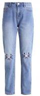 VMBABSY - Jeans a sigaretta - medium blue denim