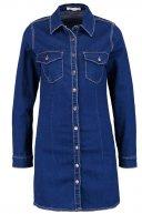 Vestito di jeans - dark blue