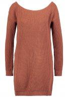 AVYN - Vestito di maglia - brown