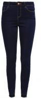 VMSEVEN - Jeans Skinny Fit - dark blue denim