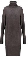 ADPTNEVER - Vestito di maglia - dark grey melange