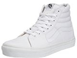 Vans Sk8-Hi, Sneakers Alti Unisex Adulto, Bianco (True White W00), 40 EU