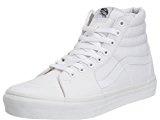 Vans Sk8-Hi, Sneakers Alti Unisex Adulto, Bianco (True White W00), 49 EU