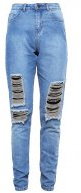 NMDONNA - Jeans baggy - medium blue denim