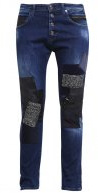 PILAR  - Jeans baggy - dark blue