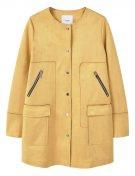 CAROLINE - Cappotto corto - mustard yellow