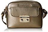 Trussardi Jeans 75B46651, Pochette da giorno Donna, Bronze, 18 cm