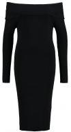 Vestito di maglia - black