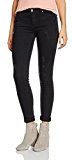 Springfield 8.M.t.Rotos Medio Negro, Jeans Donna