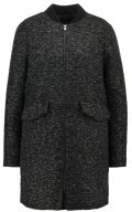 Cappotto corto - black/dark grey