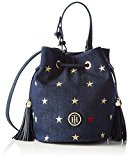 TOMMY Hiliger, TOMMY BUCKET MINI BUCKET DENIM-Borsa da donna