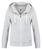 ONLFINLEY - Felpa con la zip - light grey melange