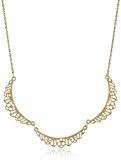 Downton Abbey Gold-Collana a colletto, con bordi smerlati, 40, 64-48,26 cm