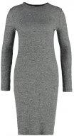 Vestito di maglia - charcoal
