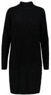 VISEMINA - Vestito di maglia - black